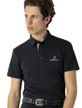 LeMieux Monsieur Men's Polo Black