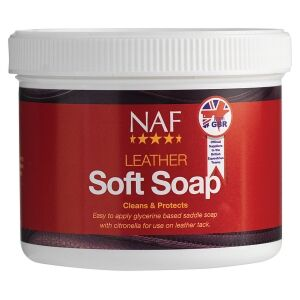 NAF Leather Soft Soap 5 Star 450g