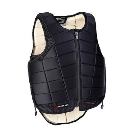 RaceSafe Adult Body Protector Black Beta 2018