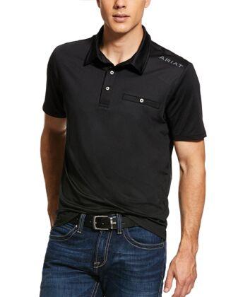 Ariat Men's Norco Polo Black