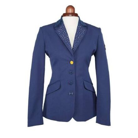 Shires Aubrion Oaklawn Navy Show Jacket