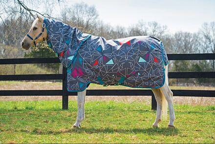Horseware Amigo Pony Plus Lite Origami/ Teal