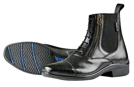 Dublin Paramount Side Zip Boots - Black