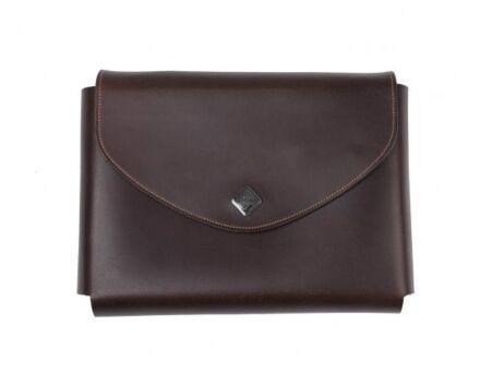 LeMieux Leather Passport Holder Brown