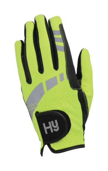 Hy5 Extreme Reflective Softshell Gloves Yellow