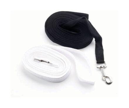 Hy Cotton Lunge Rein Black 25'