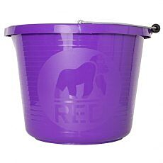 Red Gorilla Premium Bucket Purple