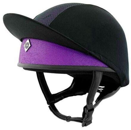 Charles Owen Pro II Plus Purple