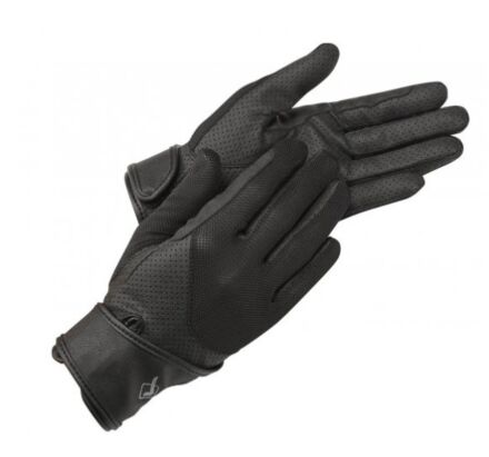 LeMieux ProTouch Mesh Riding Gloves - Black
