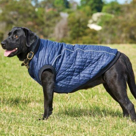 Weatherbeeta Puffer Dog Coat Navy