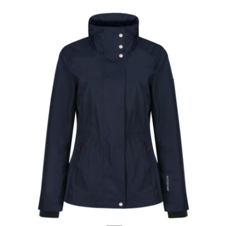 Equetech Pura Waterproof Jacket- Navy