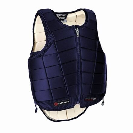 Racesafe Children's Body Protector Navy Beta Standard 2018