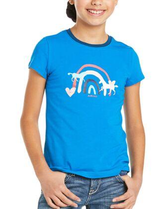 Ariat Youth Rainbow Wishes T-Shirt Navy