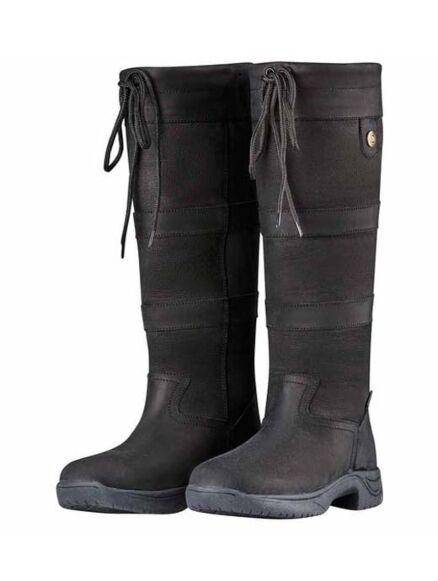 Dublin River Boot III- Black X Wide Calf