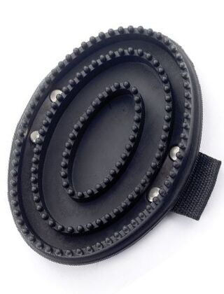 Lincoln Rubber Curry Comb Black