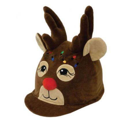 Equetech Ruldolf Reindeer Hat Silk
