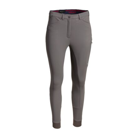 Ariat Triton Grip Full Seat Breech-Plum Grey