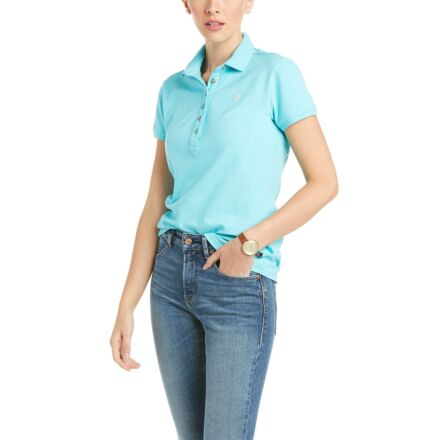 Ariat Women's Prix 2.0 Polo Cool Blue
