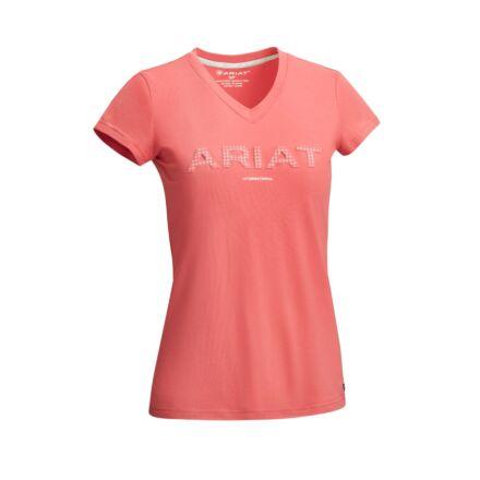 Ariat Women's 3D Logo T-Shirt Amaranth