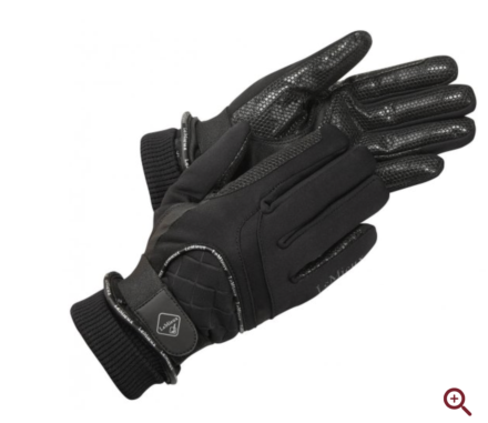 LeMieux Waterproof Lite Gloves -Black