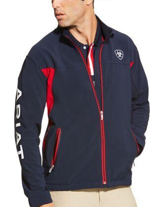 Ariat Men's New Team Softshell Jacket Navy
