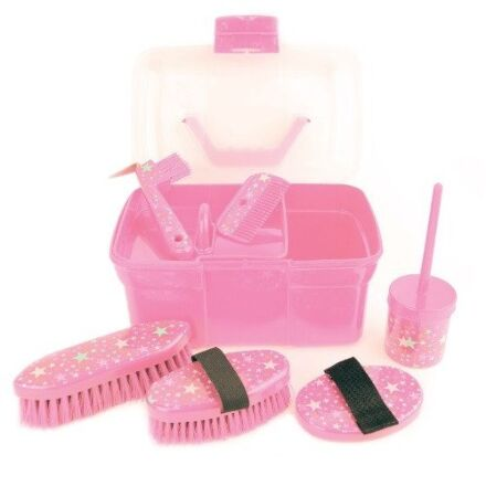 Lincoln Star Grooming Kit Pink
