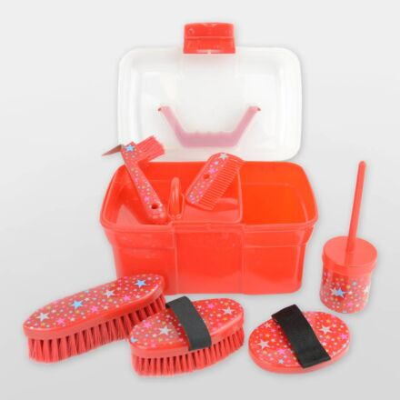 Lincoln Star Grooming Kit Red