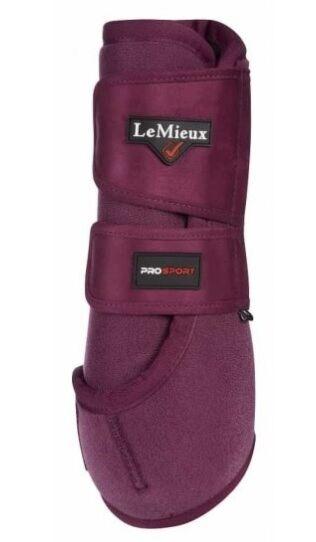 LeMieux ProSport Support Boots Plum