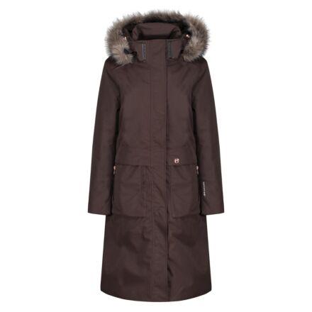 Equetech Solstice Waterproof Parka Coat  Bracken
