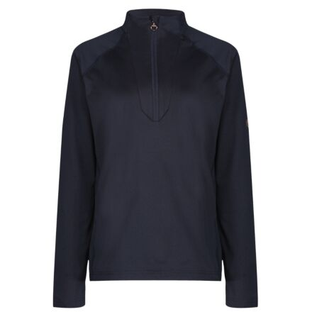 Equetech Thermic Zip Base Layer-Navy