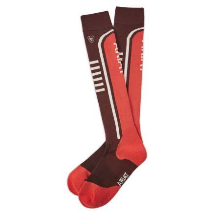 AriatTEK Slimline Performance Socks Cocoa/Amrth
