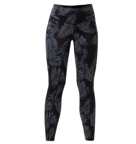Equetech Tropics Riding Tights- Black/Grey