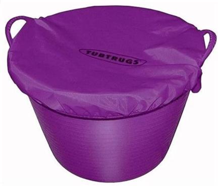 Red Gorilla Fabric Tub Cover Purple