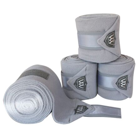 Woof Wear Vision Polo Bandages- Brushed Steel