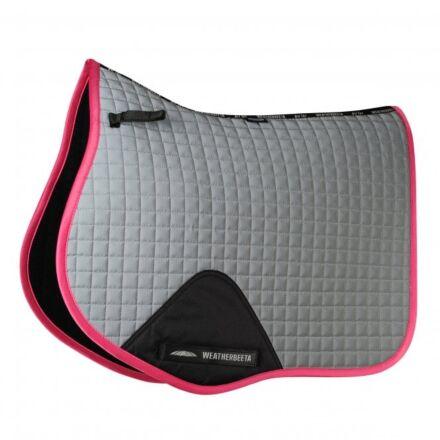 Weatherbeeta Reflective Prime All Purpose Saddlepad Silver/Pink