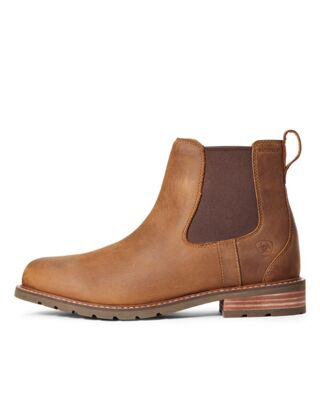 Ariat Men's Wexford Waterproof Boots - Weathered Brown