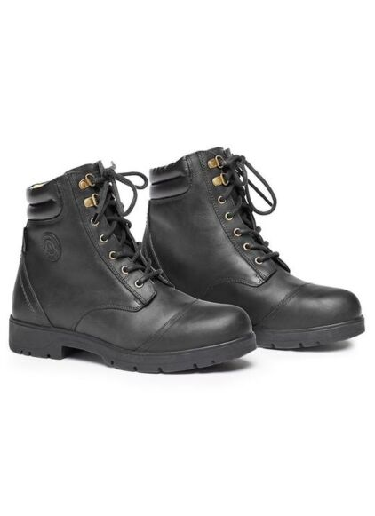 Mountain Horse Wild River Lace Paddock Boot Black