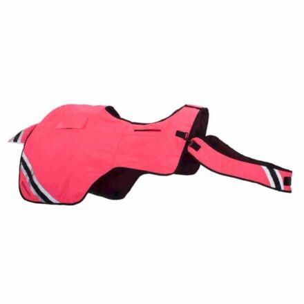 Equisafety Horse Exercise Sheet Wraparound Rug Pink