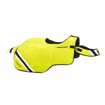Equisafety Horse Exercise Sheet Wraparound Rug Yellow