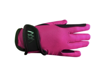 Woof Wear Young Rider Pro Glove - Berry