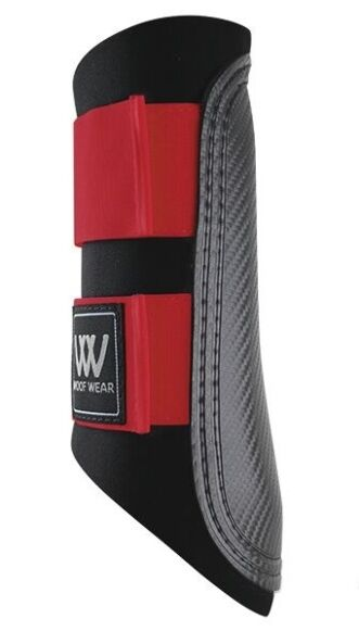 Woof Wear Club Brushing Boot-Royal Red