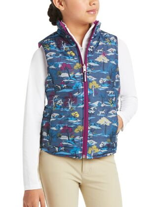 Ariat Kids Emma Reversible Insulated Vest Multi