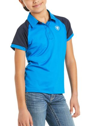 Ariat Youth Team 3.0 Polo Imperial Blue