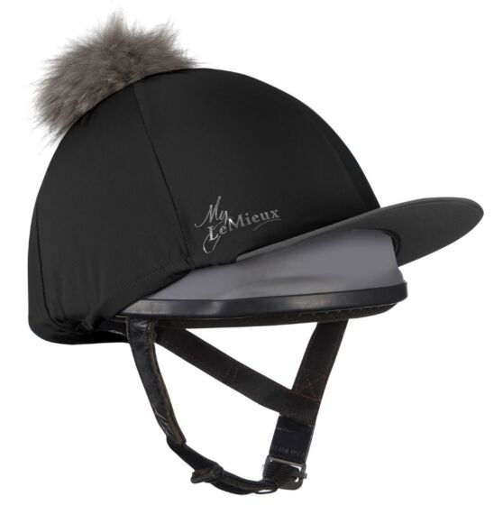 Le Mieux Hat Silk Black/ Grey