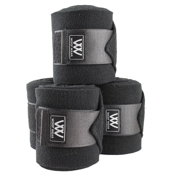 Woof Wear Polo Bandages Black