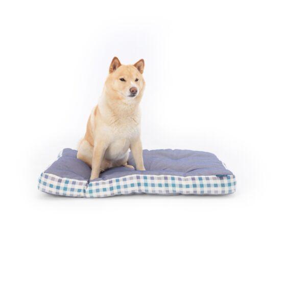 Project Blu Beta Dog Mattress Blue Check