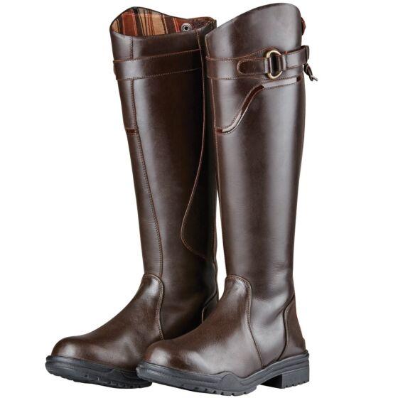 Dublin Calton Boot Dark Brown Wide