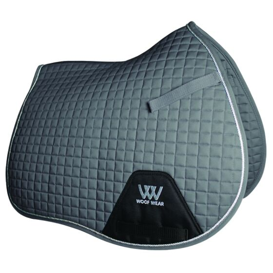 Woof Wear General Purpose Saddle Cloth Brushed Steel