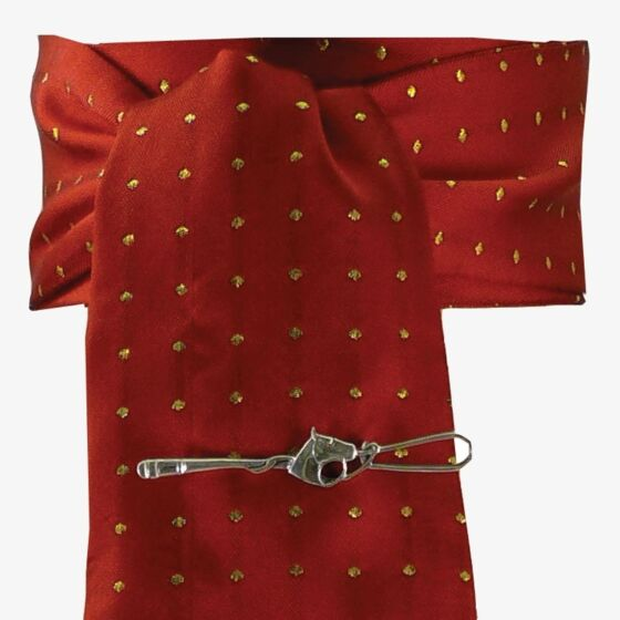 Equetech Pin Spot Stock- Red/ Gold