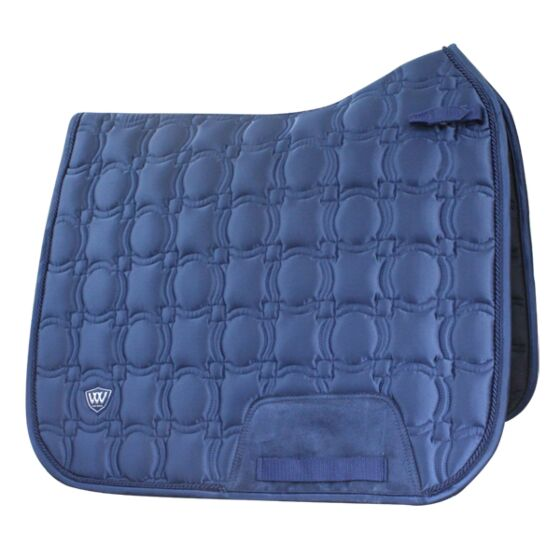 Woof Wear Vision Dressage Pad -Navy Full